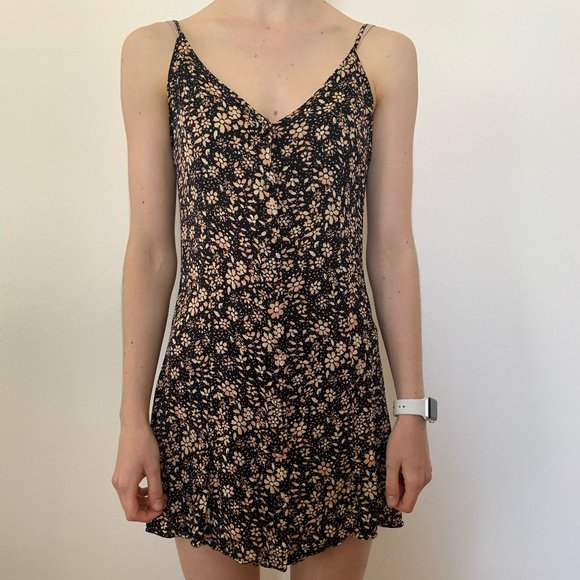 Urban Outfitters Printed Mini Dress